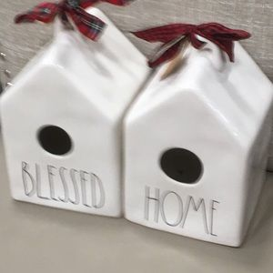 Rae Dunn Accessories - Rae dunn blessed Home Birdhouses